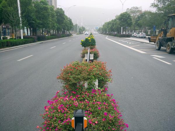四川道路花箱护栏