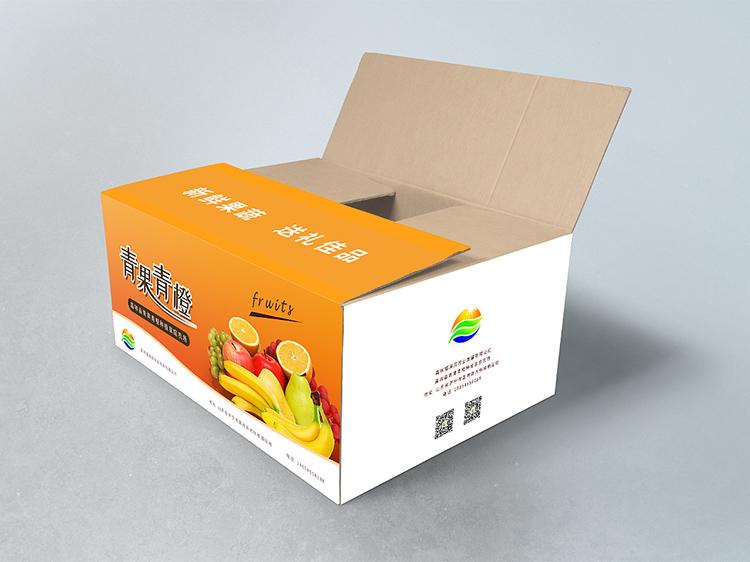 青果青橙包装箱
