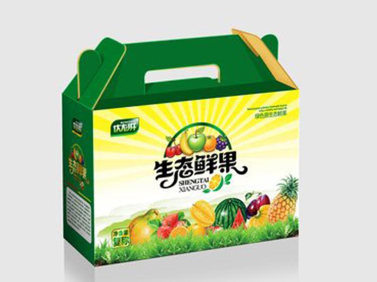 生态鲜果包装礼箱