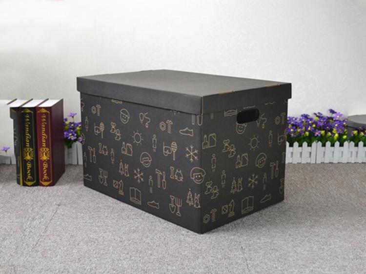 方形铜版纸国际搬家包装纸箱