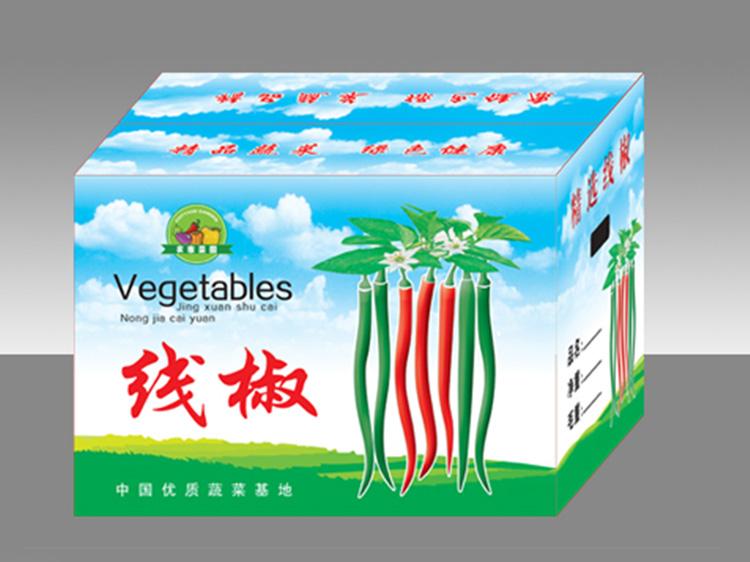 线椒有机蔬菜箱