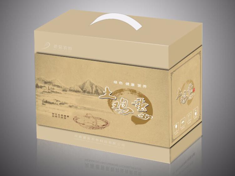 土家鸡蛋特产礼品箱