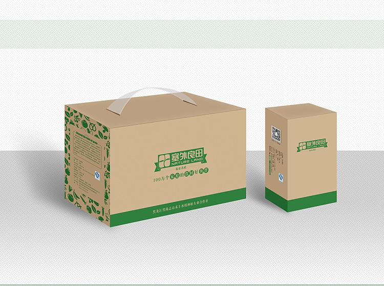 塞外良田食材食品箱