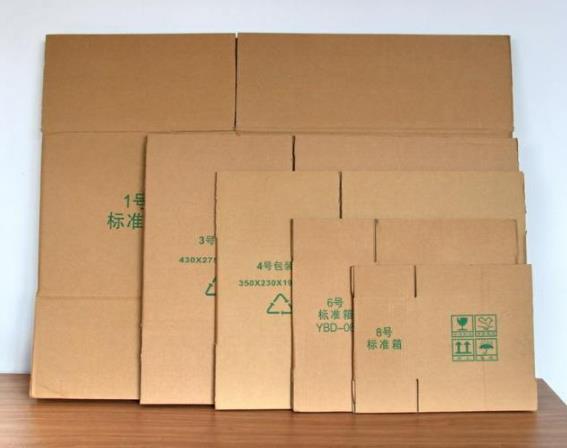 纸箱包装使用越来越多