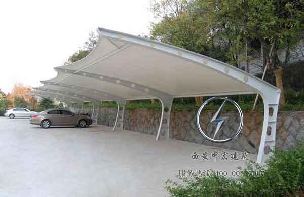 西安膜结构车棚工程