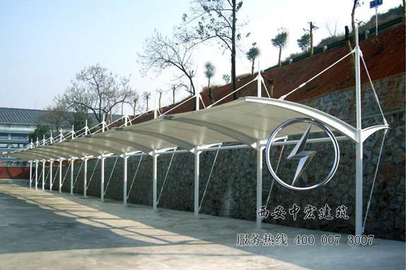 西安膜结构车棚