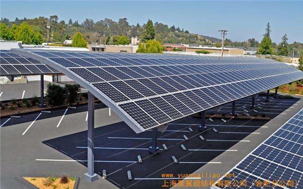 太阳能车棚安装