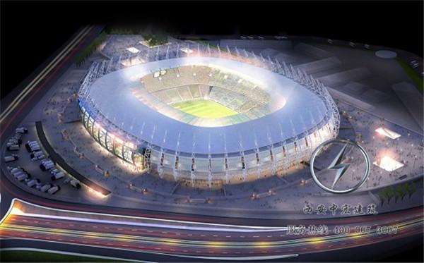 西安体育场馆膜结构