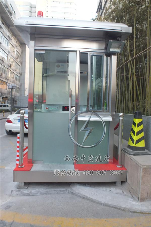 西安高新国际防弹玻璃岗亭