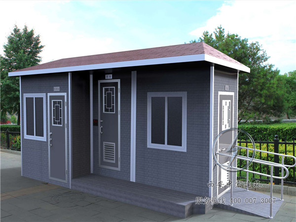 西安直排节水型移动厕所安装工程