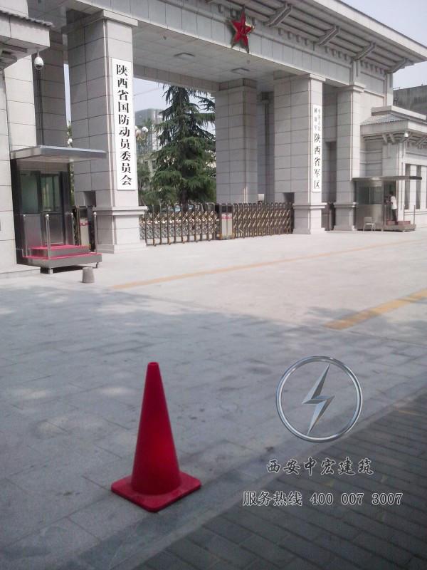 省军区防弹玻璃岗亭
