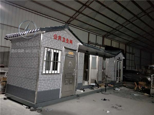 西安高压气水冲型移动厕所