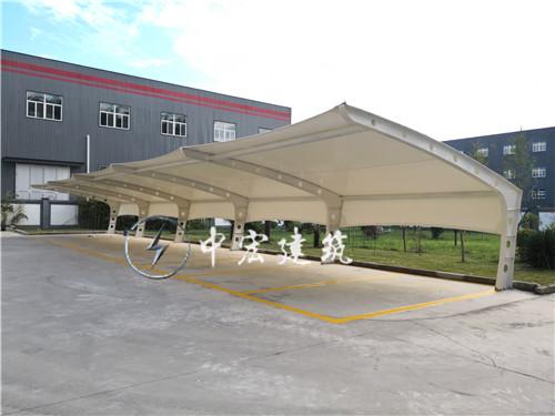 户县汽车产业园膜结构车棚
