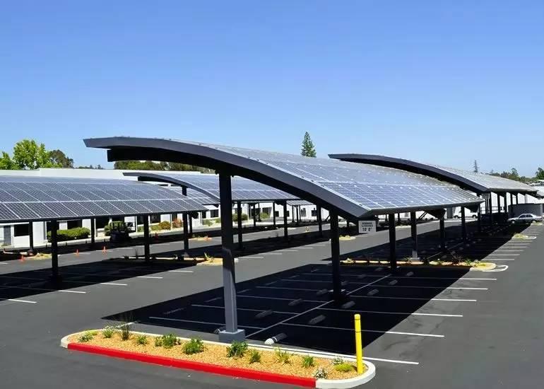 太阳能车棚定制