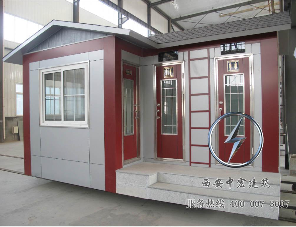 西安高压气水冲型移动厕所工程