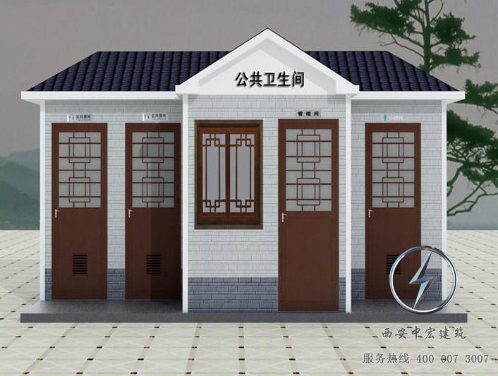西安泡沫封堵型移动厕所设计