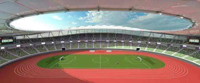 厂家直销大型户外体育馆膜结构