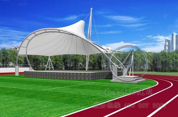 专业承接膜结构工程充气膜结构体育场馆