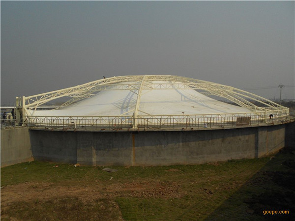 西安沼气污水膜结构定制