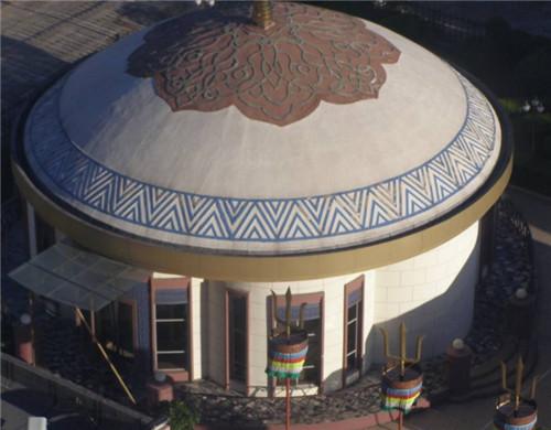 景观蒙古包膜结构设计