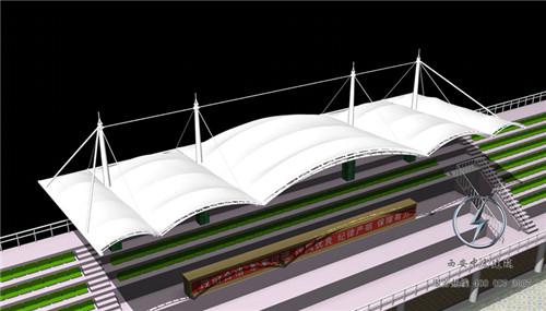 表演舞台膜结构设计
