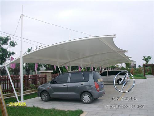 西安膜结构车棚定制