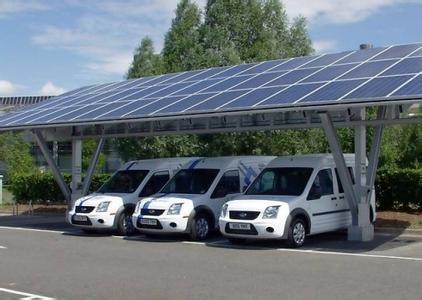 西安高新太阳能光伏车棚