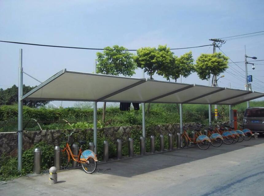 西安公交站台膜结构