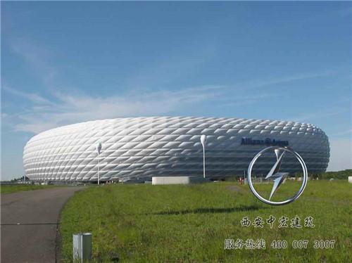 充气膜体育场馆除了建造快速结构安全外,居然还有以下优势!