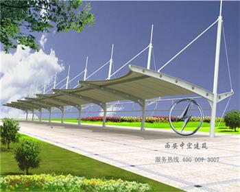 陕西公交站台膜结构价格