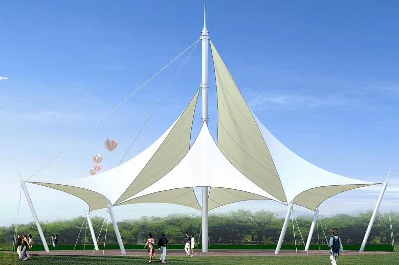机场膜结构建筑