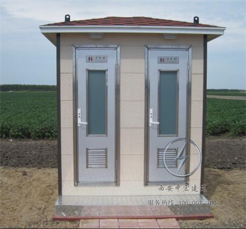 西安车载拖车型移动厕所设计