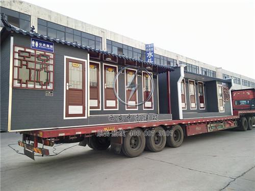 陕西城市实用型移动厕所案例