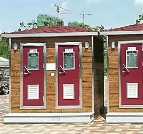 甘肃景区园林景观性移动厕所安装