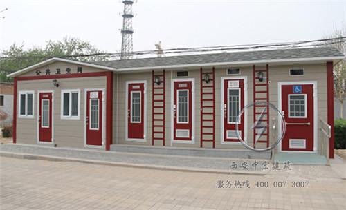 陕西景区仿古型移动厕所