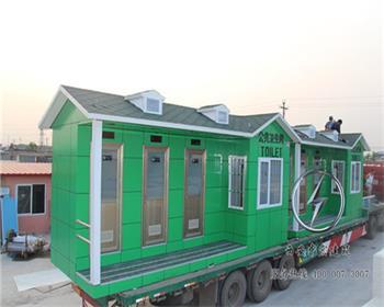 车载拖车型移动厕所定制设计