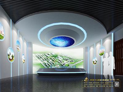 数字化展厅设计效果图