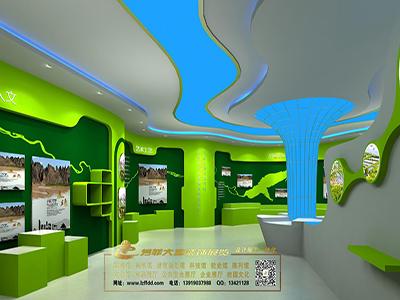 旅游馆展厅设计图