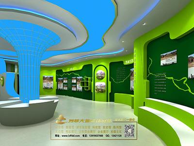 旅游馆展厅设计