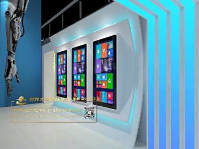 多媒体互动展厅图