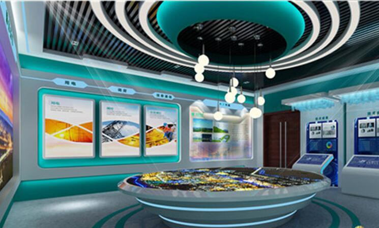 企业展厅设计图