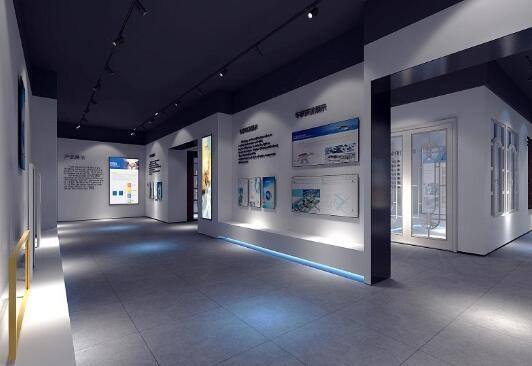芳菲大地展厅设计公司提供参考的企业展厅设计方案