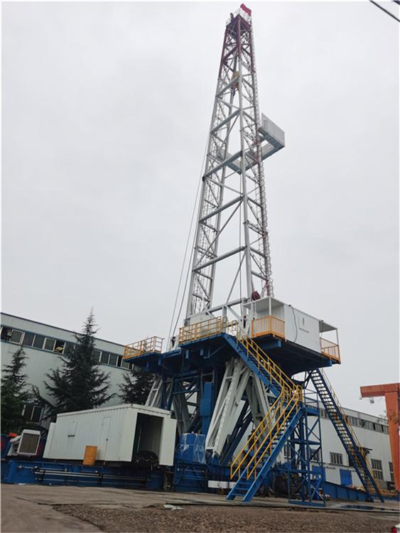 2020年11月22日起升ZJ50/3150LDB钻机。