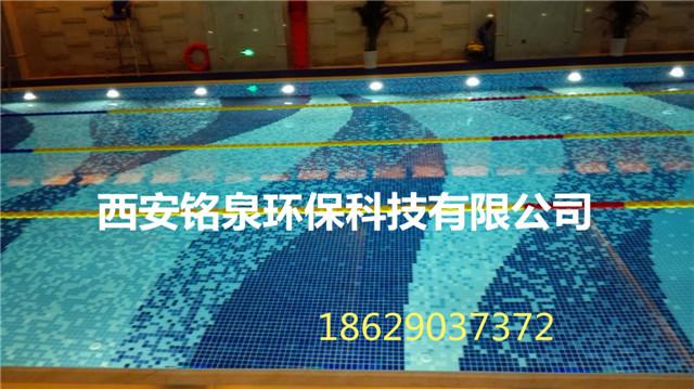 西安某游泳池建设
