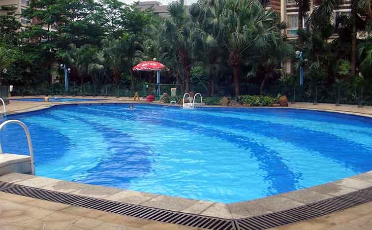 温泉泳池水发绿长藻系统解决方案