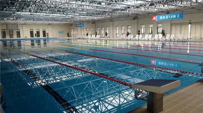 西安某泳池设备和药剂维护