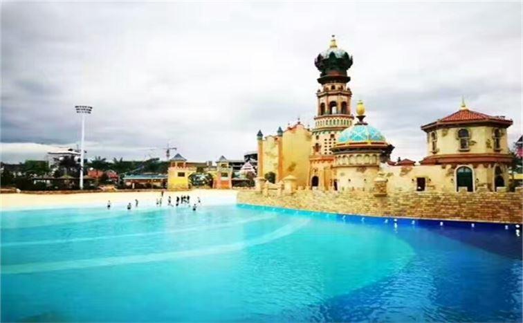 铭泉环保西安泳池设备中的高效吸污机