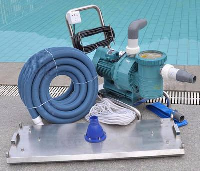 西安泳池设备厂家—铭泉环保为你讲解池底清污器