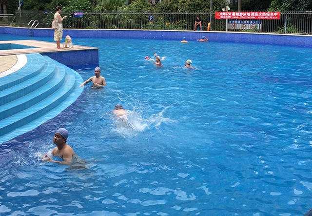 西安游泳池设备