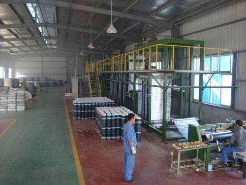 生产防水材料车�间